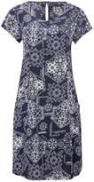 M&Co Tile print pocket day dress