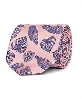 Van Heusen Pink & Navy Floral Tie