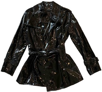 Ralph Lauren Black Patent leather Trench coats