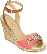 Liz Claiborne Sellina Wedge Sandal