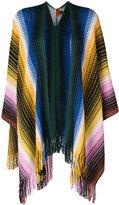Missoni zigzag fringed cardigan - women - Acrylic/Wool - One Size