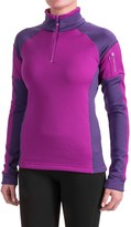 Obermeyer Nova Elite Shirt - Zip Neck, Long Sleeve (For Women)