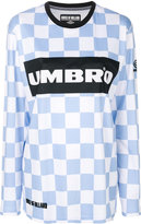 House of Holland checkerboard Umbro top