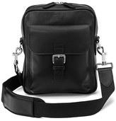 Aspinal Of London Harrison Small Messenger Bag Black
