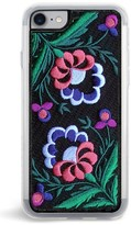 Zero Gravity Belle Embroidered Iphone Case - Black