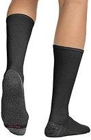 Hanes Men's Comfortblend Max Cushion 6-Pack Black Crew Socks