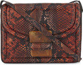 Dries Van Noten Reptile design medium cross-body bag