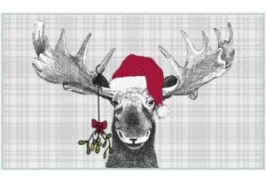 """Mohawk Holiday Moose Accent Rug, 24"""" x 40"""" Bedding"""