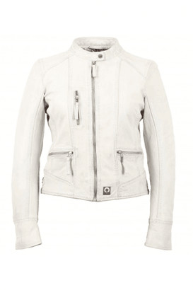 Oakwood Each Collarless Biker Jacket - Medium