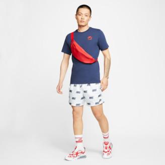 Nike Men's Sportswear Allover Print Woven Shorts