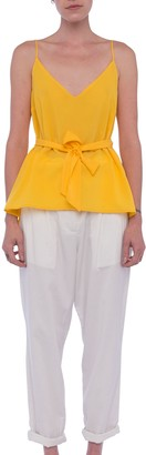 French Connection Dalma Crepe Light Top