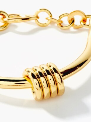 Tohum Dunya Apia 24kt Gold-plated Bangle - Gold