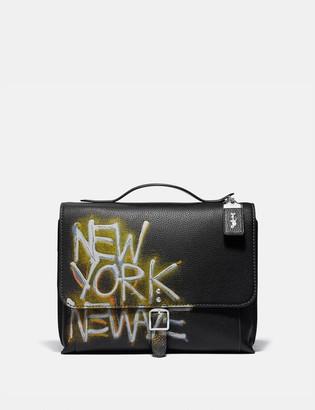 Coach X Jean-Michel Basquiat Rogue Messenger