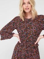 Very Ditsy Floral Hanky Hem Dress - Ditsy Print