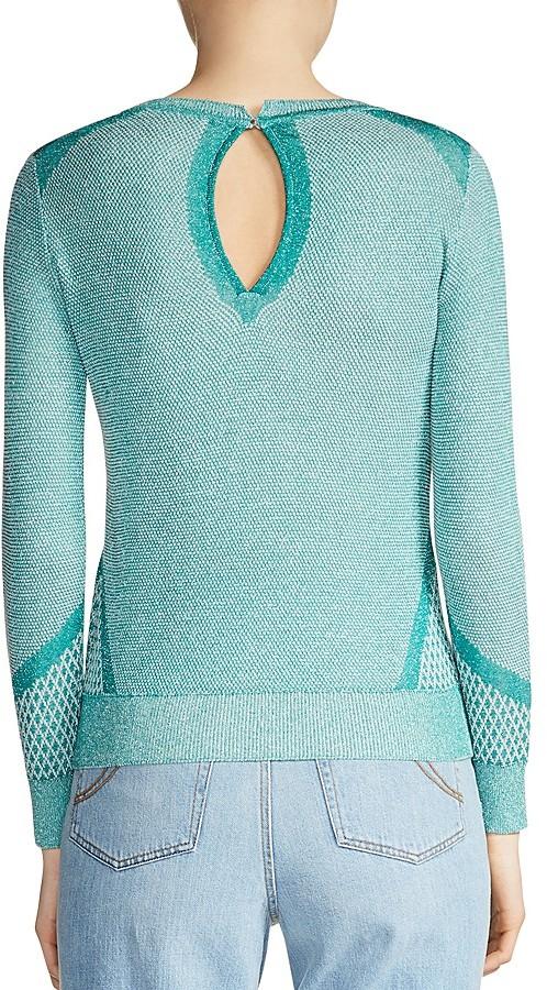 Maje Minneapol Embellished Sweater