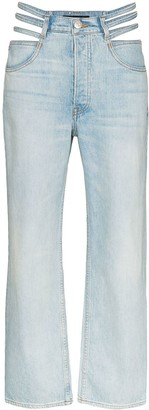 3x1 x Mimi Cuttrell Willow cut-out jeans