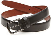 Perry Ellis Big and Tall Park Ave Leather Belt
