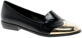 Asos LEWIS Slipper Shoes - Black