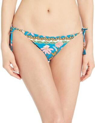 Nanette Lepore Women's Vampe Side Tie Hipster Pant Bikini Bottom