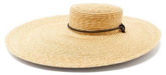 Lola Hats Roundabout Wide-brimmed Straw Hat - Beige
