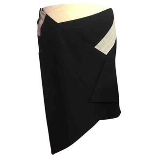 Balenciaga Navy Cotton Skirts