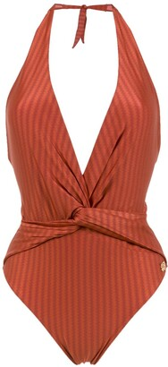 BRIGITTE Aline halter neck swimsuit