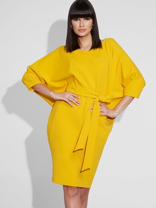 New York & Co. Belted Kimono Shift Dress - Gabrielle Union Collection