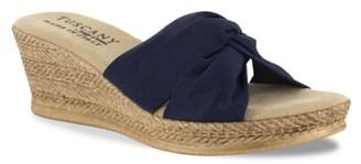 Easy Street Shoes Tuscany Dinah Espadrille Wedge Sandal