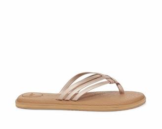 Sanuk Women's Yoga Salty Shimmer Metallic Sandal