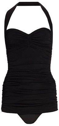 Norma Kamali One-Piece Bill Mio Ruched Swimsuit