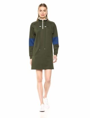 Lacoste Women's L/S Neoprene Dress W/Pockets