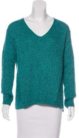 148 Asymmetrical V-Neck Sweater