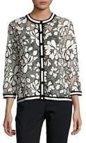 Karl Lagerfeld Paris Floral Lace Cardigan