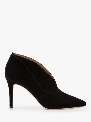 Boden Shrewsbury Suede Shoe Boots, Black