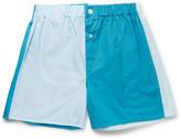 Emma Willis - Patchwork Cotton Boxer Shorts