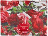 Dolce & Gabbana Pink Floral Card Holder