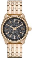 Diesel Kray Kray 38 Gold-Tone Stainless Steel Bracelet Ladies Watch