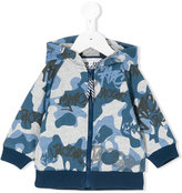 Little Marc Jacobs camouflage print zipped hoodie