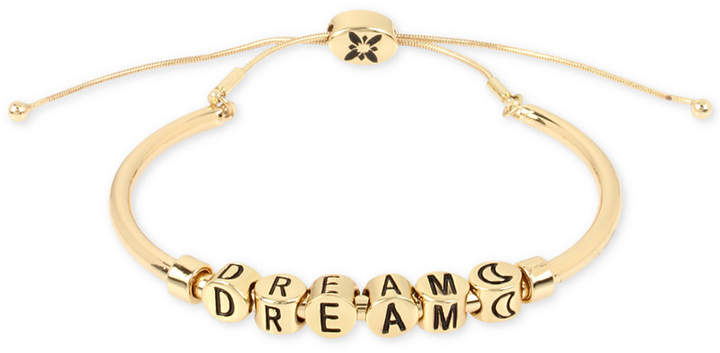 BCBGeneration BCBG Inspirational Word Beaded Slider Bracelet