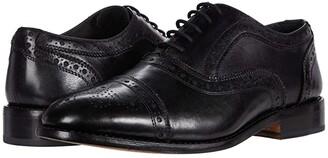 Anthony Veer Ford Cap Toe Quarter Brogue (Black) Men's Shoes