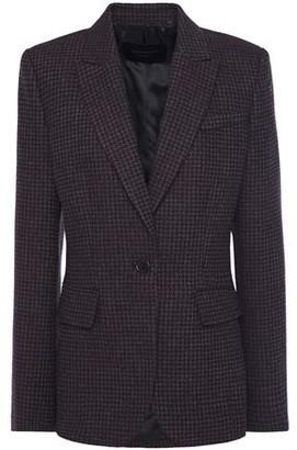 Equipment Wool-blend Tweed Blazer