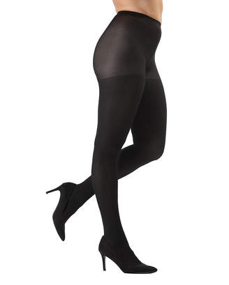 Me Moi Memoi MeMoi Women's Tights Black/Black - Black Chevron Tights - Set of Two