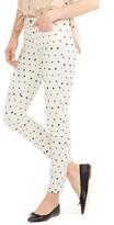 J.Crew Petite Women's Mini Star Print Toothpick Jeans