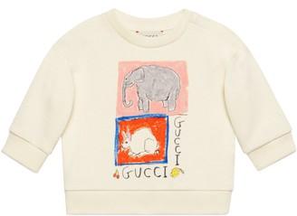 Gucci Baby Isabella Cotier print cotton sweatshirt
