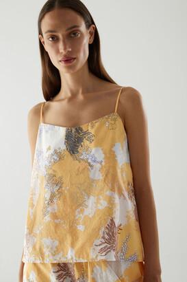 Cos Printed Light Cotton Vest