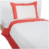 DwellStudio Twin Duvet Set- Modern Border Rose