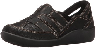Clarks Women's Sillian Stork Fisherman Sandal