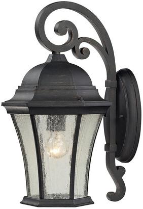 Artistic Home & Lighting 1-Light Wellington Park Outdoor Sconce