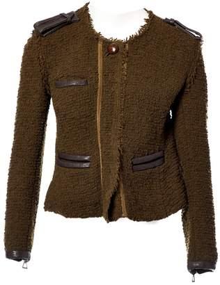 Isabel Marant Khaki Wool Jackets