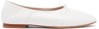 Mansur Gavriel Dream Leather Ballet Flats - White